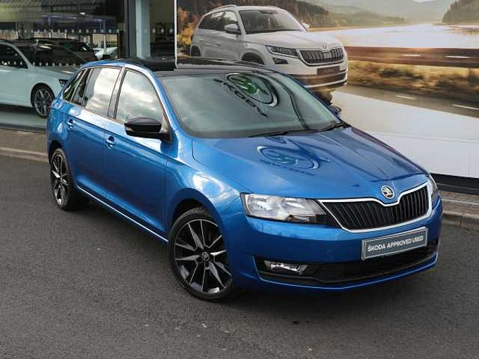 SKODA Rapid 1.0 TSI (110PS) SE Sport Spaceback 5-Dr