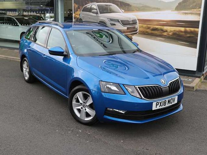 SKODA Octavia Estate (2017) 1.5 TSI (150ps) SE DSG